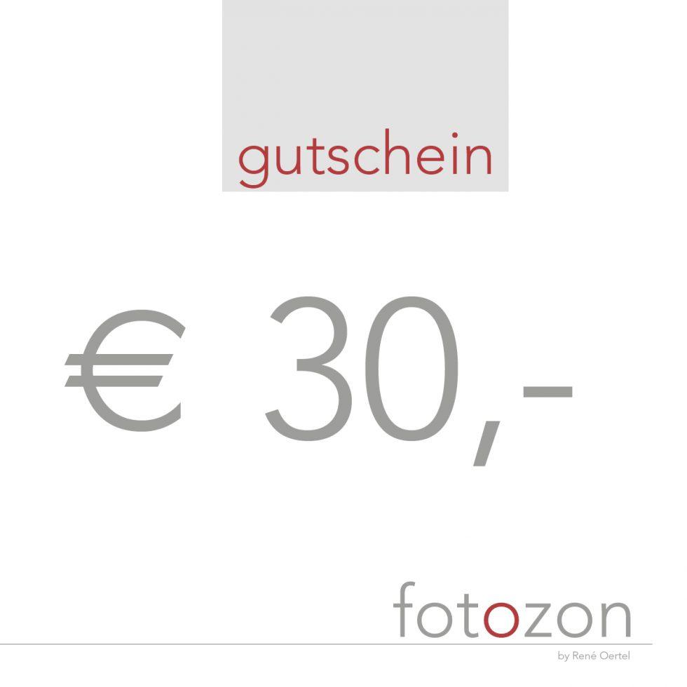 Gutschein 30Euro